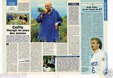 Coupure de presse Clipping 1993 (1 page 1/2) Jean Pierre Coffe