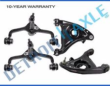 NEW 4pc Front Upper and Lower Control Arm Set for 1995-2002 Ford Lincoln Mercury