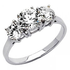 Round brilliant cut Engagement Anniversary Ring