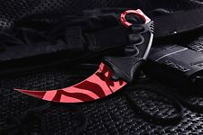 Cielo herreros Counter Karambit Slaughter Go skin Knife CS Strike cuchillo