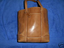 COACH 5187 LIGHT BROWN LEATHER MEDIUM GALLERY TOTE SHOULDER BAG NICE.!