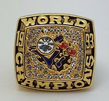 1993 Toronto Blue Jays World Series Championship ring Carter size 11 Back Solid