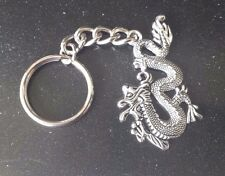 Harry Potter FANTASY JEWELRY 1 FIRE DRAGON KEY CHAIN Pewter Silver Finish AllNew
