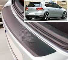 VW Golf MK6 3/5 door - Carbon Style rear Bumper Protector