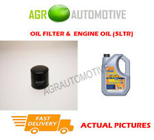 DIESEL OIL FILTER + LL 5W30 ENGINE OIL FOR MG ZR 2.0 113 BHP 2002-05