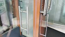 "Shower Door Handle (H) HANDLE AKA AS LADDER PULL OR SQUARE 6"" B TO B  5 FINISHES"