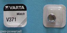 1 x Varta V 371 SR69 1,5V V371 SR 69 D 371 Knopfbatterie SR920SW UHRENBATTERIE