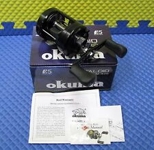 Okuma Metaloid Round Baitcast Reel NEW MODEL!! M-400