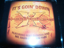 X-ecutioners It's Goin' Down Feat Mike Shinoda Linkin Park AUST CD Single