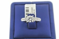 Natalie K 14k White Gold 0.65 CT Diamond Engagement Ring Setting/Mounting