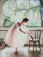 Needlework Craft Full Embroidery DIY Counted Cross Stitch Kits Ballet Dance Girl