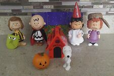 Peanuts Memory Lane Forever Fun Great Pumpkin Halloween Figures Dolls