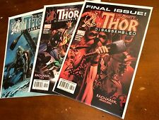 THE MIGHTY THOR #585,586,587 (2004) Marvel DISASSEMBLED RAGNAROK set of 3 84-86