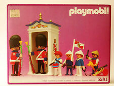 Vintage Playmobil 5581~Royal Guards Sentry Box Victorian Children's Parade~NISB