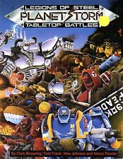 PLANET STORM-LEGIONS OF STEEL-TABLETOP BATTLES-(SC)-very rare