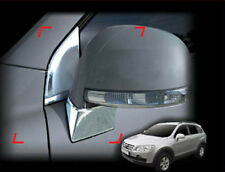 Side Mirror Bracket Chrome Moulding Cover Trim For 08 09 10 Chevy Captiva