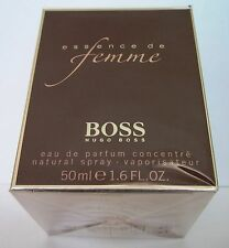 Essence de Femme Hugo Boss 50 ml Eau de Parfum concentre Spray NEU OVP in Folie