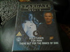 dvd stargate SG.1 DISC 6 FROM THE COMPLETE COLLECTION 129 MINS LONG NEW SEALED