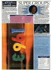 "7/1/95PGN20 ADVERT 10X7"" NEW ORDER 1963 NINETEEN63"