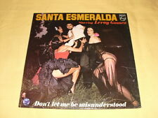 Santa Esmeralda Starring Leroy Gomez ‎– Don't Let Me Be Misunderstood LP Album