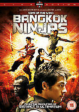 Sons Of The Wind - Bangkok Ninjas (DVD, 2010) - New & Sealed!