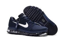 Nike Air Max 2017 Men's not 2016 Sneakers Running Trainers Shoes navy/white sz10