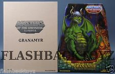 2016 MOTU Power-Con Green Granamyr MOTUC Masters of the Universe Classics MISB