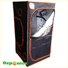 German GroCell Mylar Grow Tent 1 x 1 x 2m Hydroponics Grow Light Room