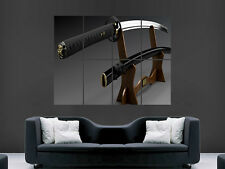 KATANA SAMURAI SWORD LARGE ART BIG HUGE GIANT POSTER PRINT
