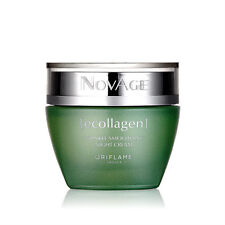 Oriflame NovAge Ecollagen Wrinkle Smoothing Night Cream, 50ml New