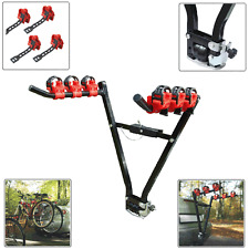 UNIVERSAL 3 BIKE CYCLE REAR TOWBAR MOUNT BICYCLE CAR RACK EASY TRANSPORT CARRIER