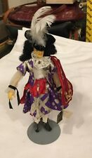 "Peggy Nisbet Doll King Charles or Musketeer Historical Character 8 1/2"" England"