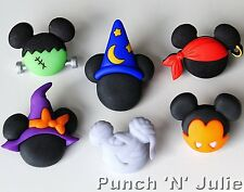 Mickey Minnie Halloween chapeau sorcière assistant DISNEY PIRATE vampire boutons Craft