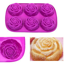 DIY Silicone Flower Rose Muffin Cup Cake Baking Mold Chocolate Maker Mould Pan