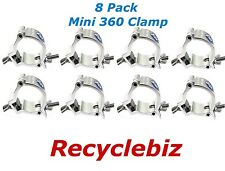 Global Truss Mini 360 Clamp ((8 Pack)) NEW & In stock & same day shipping! SAVE
