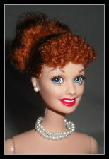 NUDE BARBIE (E) MATTEL CELEBRITY DOLL I LOVE LUCY RADIANT REDHEAD  FOR OOAK (E)