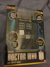 Doctor who  11th  doctor  spin and fly tardis model with sound