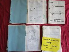 FORD Taunus Cortina  : manuel de réparation en français  1970-1974 / 200 pages