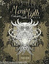Mori Myth Fantasy Angel Animals Adult Colouring Book Creative Art Therapy Relax