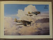 Robert Taylor – Aviation Art Flyer/Brochure – Gathering Storm. Focke-Wulf FW109s