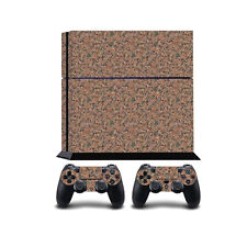 RED MARBLE PS4 PLAYSTATION 4 vinile Wrap / PLAYSTATION 4 PS4 skin adesivo covo...