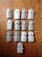 Warhammer. Undead Tomb Kings Skeleton Shields (c). Bits Box. Plastic.