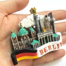 TOURIST SOUVENIR FAVORITE 3D FRIDGE MAGNET RELIEF- Berlin, Germany Flag