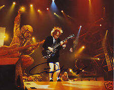 ANGUS YOUNG - ACDC AUTOGRAPH SIGNED PP PHOTO POSTER
