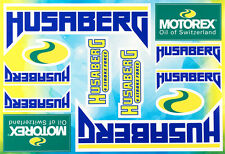 Husaberg motorcycle decals stickers graphic set vinyl logo aufkleber adesivi