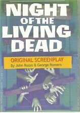 NIGHT OF THE LIVING DEAD SCRIPT SIGNED BY RUSSO & ROMERO