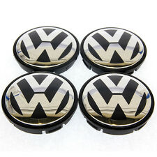 New 4x 55mm VW Volkswagen Wheel Centre Caps to fit GOLF POLO GTI LUPO PASSAT
