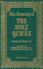 The Meaning of the Holy Qu'ran by Abdullah Yusuf Ali (Hardcover, 11th Ed) New