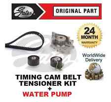 FOR LAND ROVER FREELANDER 2.2 TD 16V TIMING CAM BELT TENSIONER KIT + WATER PUMP