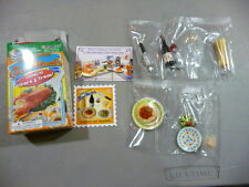 Re-ment Puchi Petite Fun Meals # 8 SPAGHETTI AND MEATBALLS   Miniature Food NEW